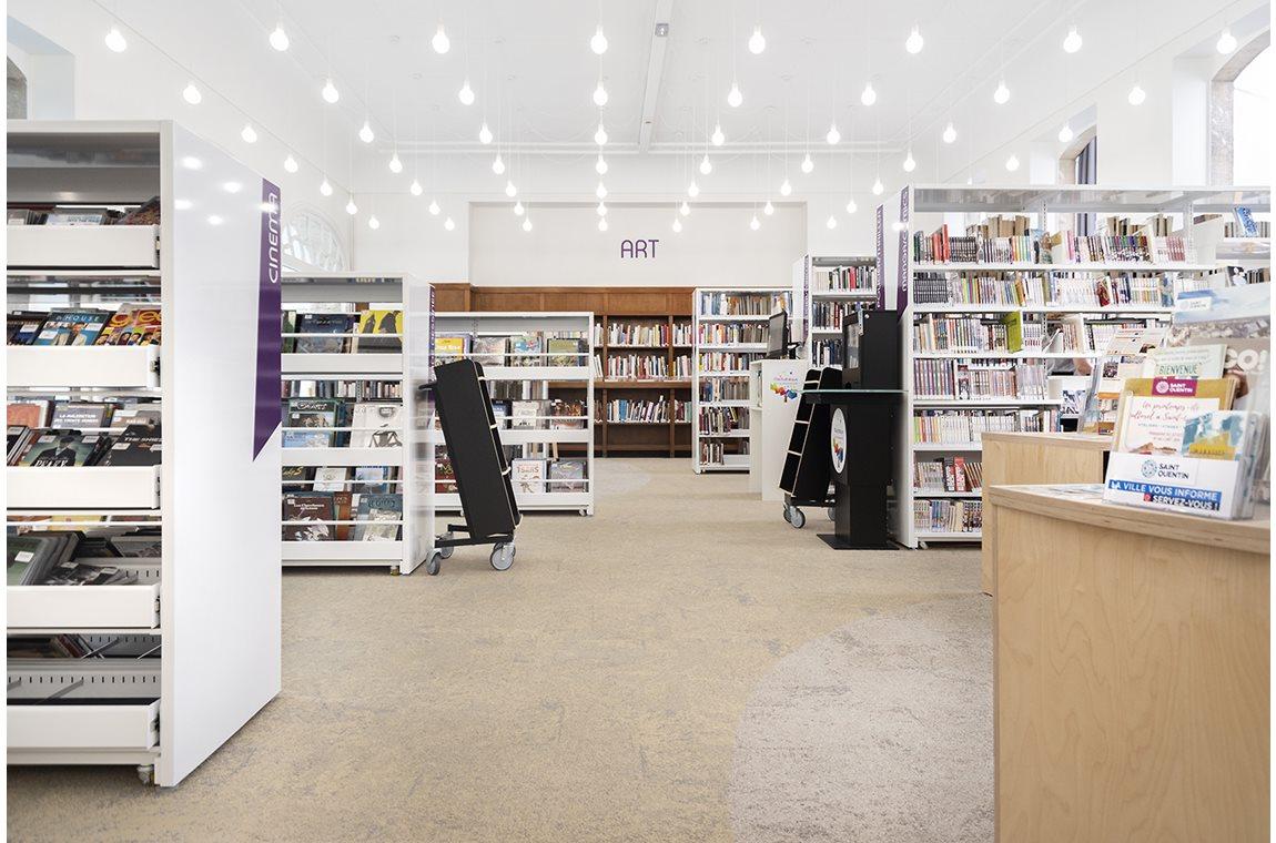 Saint-Quentin bibliotek, Frankrike - Offentliga bibliotek