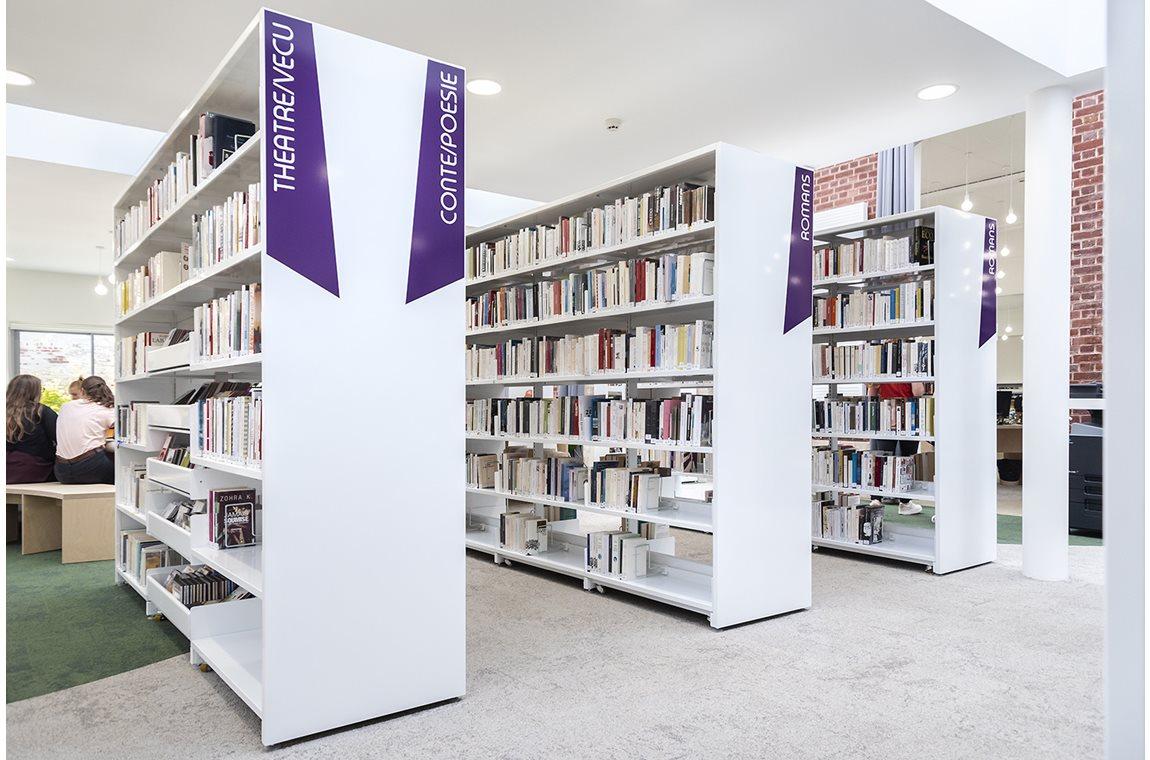 Médiathèque de Saint-Quentin, France - Bibliothèque municipale