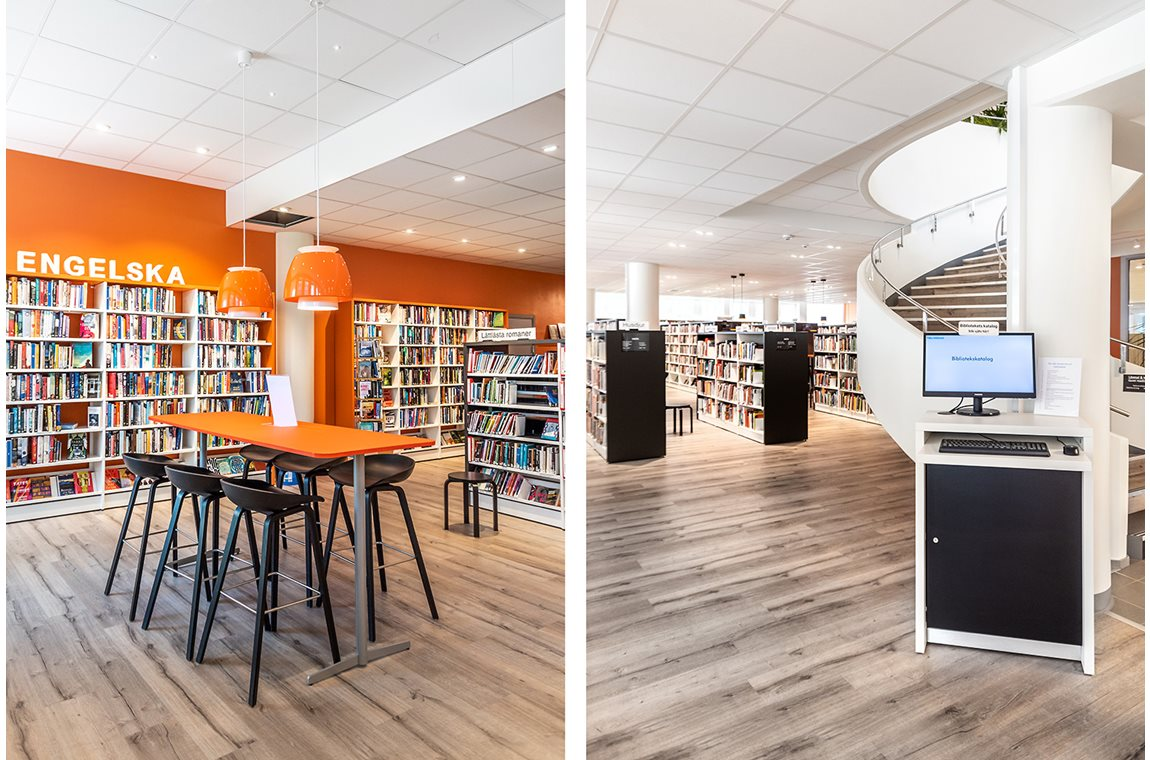 Täby Public Library, Sweden - Public libraries
