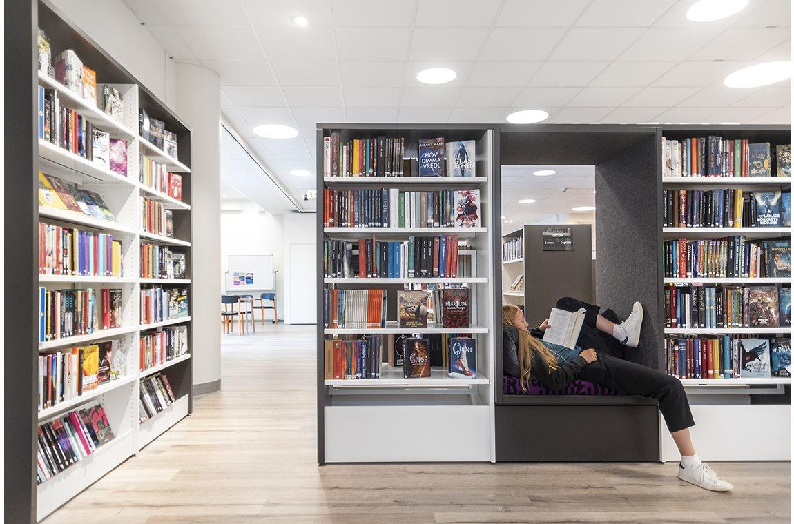 Bibliothèque municipale de Täby, Suède - Bibliothèque municipale
