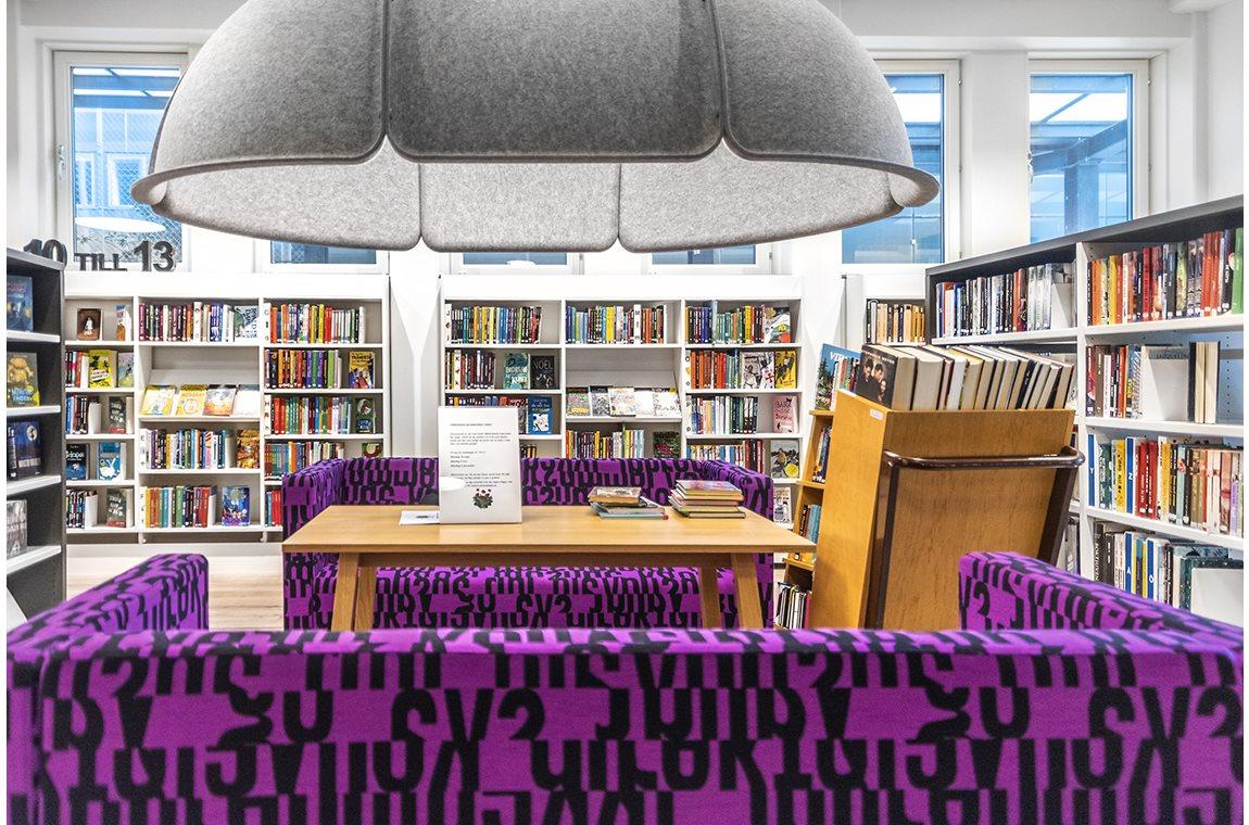 Täby bibliotek, Sverige - Offentliga bibliotek
