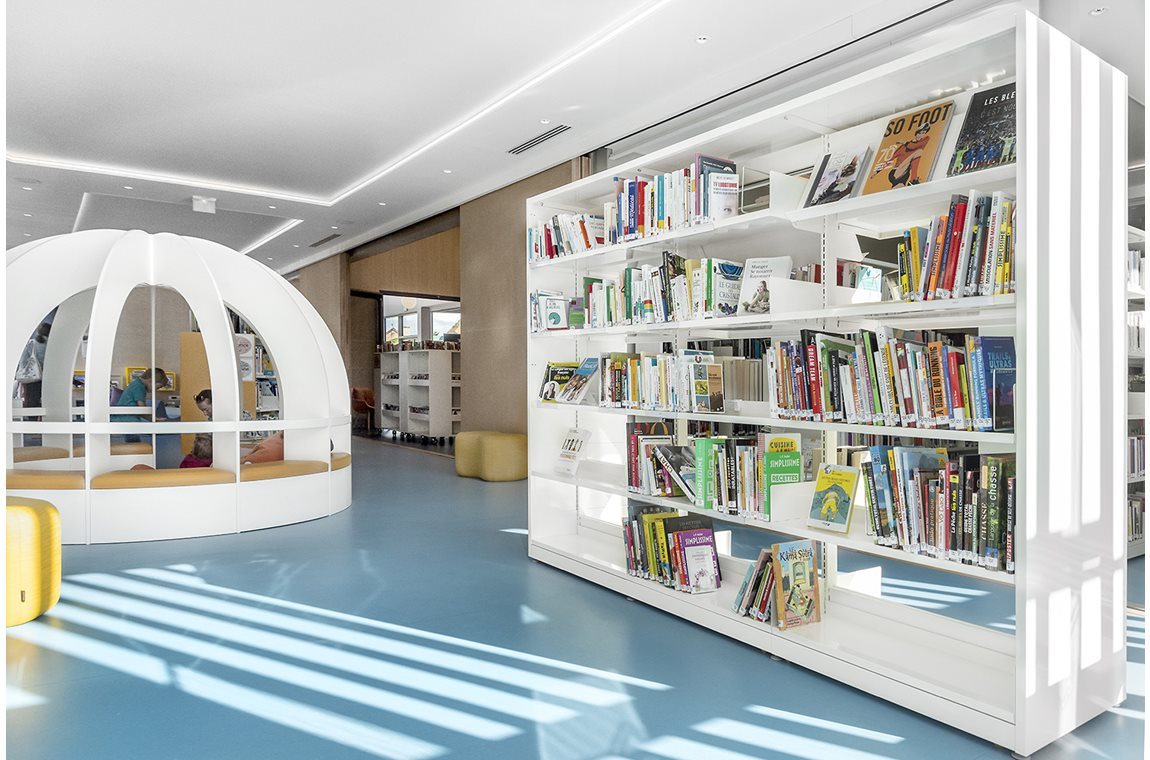 Templeuve-en-Pévèle Bibliotek, Frankrig - Offentligt bibliotek