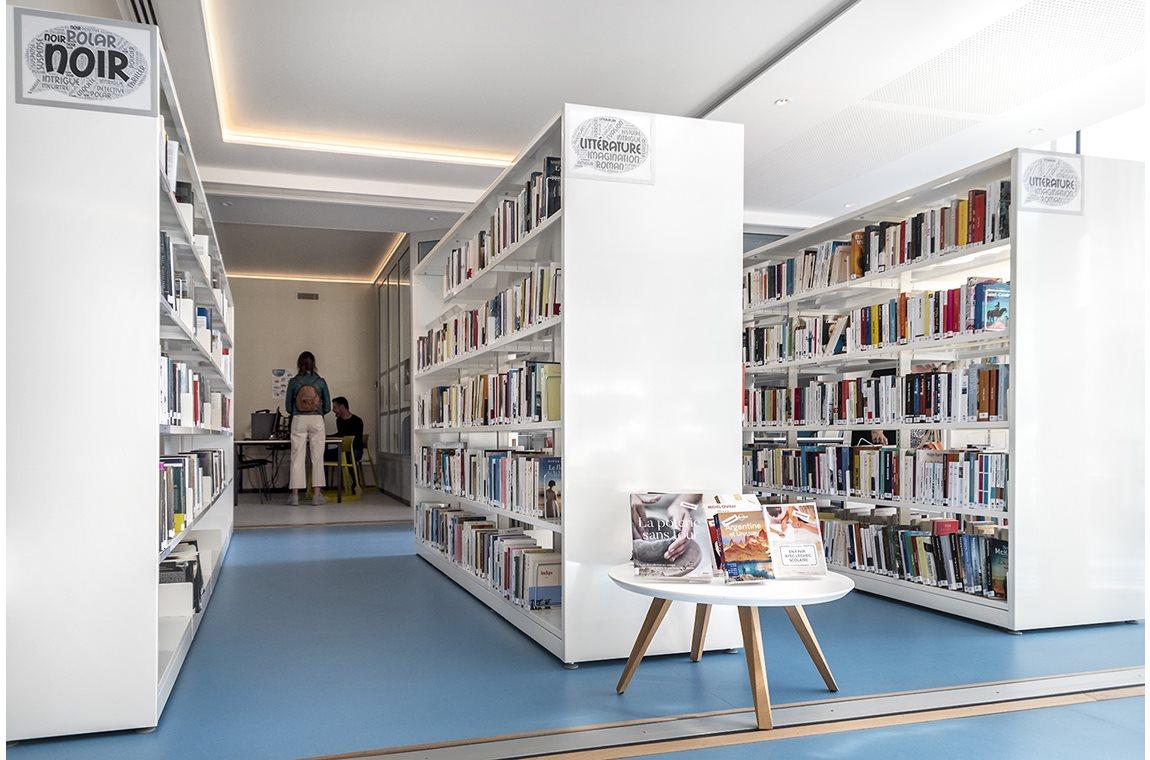 Öffentliche Bibliothek Templeuve-en-Pévèle, Frankreich - Öffentliche Bibliothek