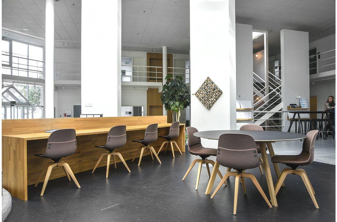 VIA University College Herning, Danmark - Akademisk bibliotek