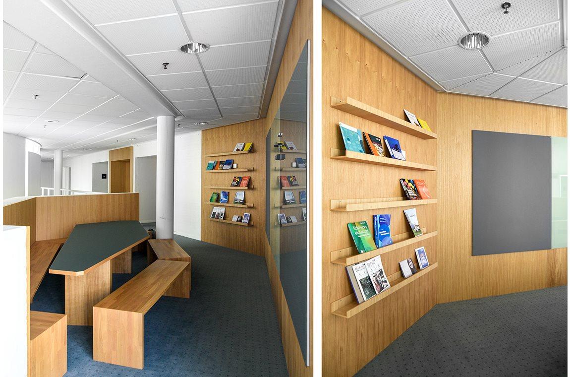 VIA University College Herning, Denemarken - Wetenschappelijke bibliotheek