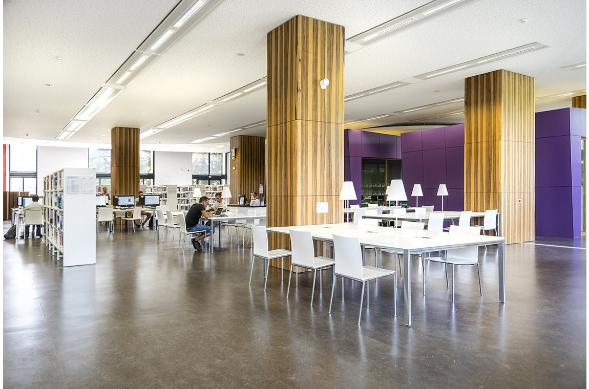 Grenoble University Library, France - Academic libraries