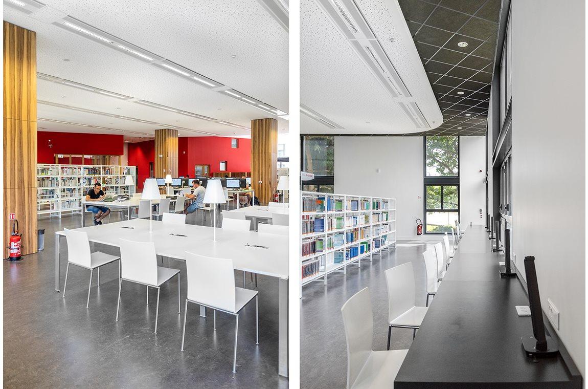Bibliothèque Universitaire Grenoble Alpes, France - Bibliothèques universitaires et d'écoles supérieures