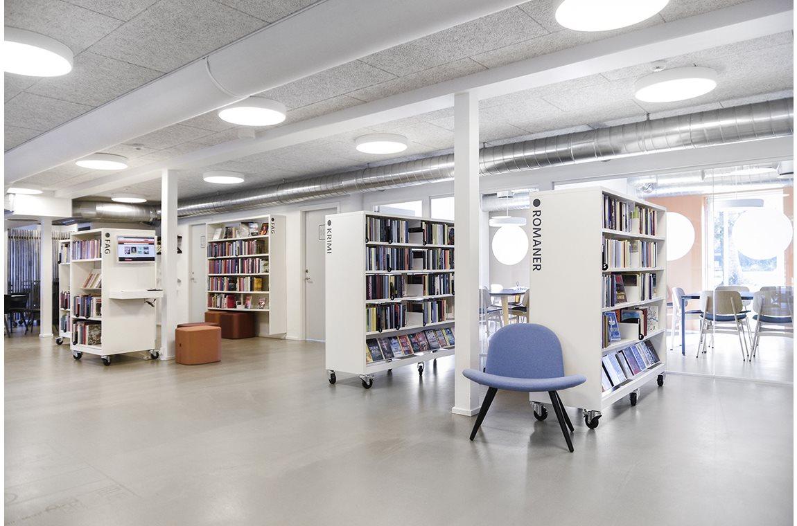 Bibliothèque municipale de Them, Danemark - Bibliothèque municipale