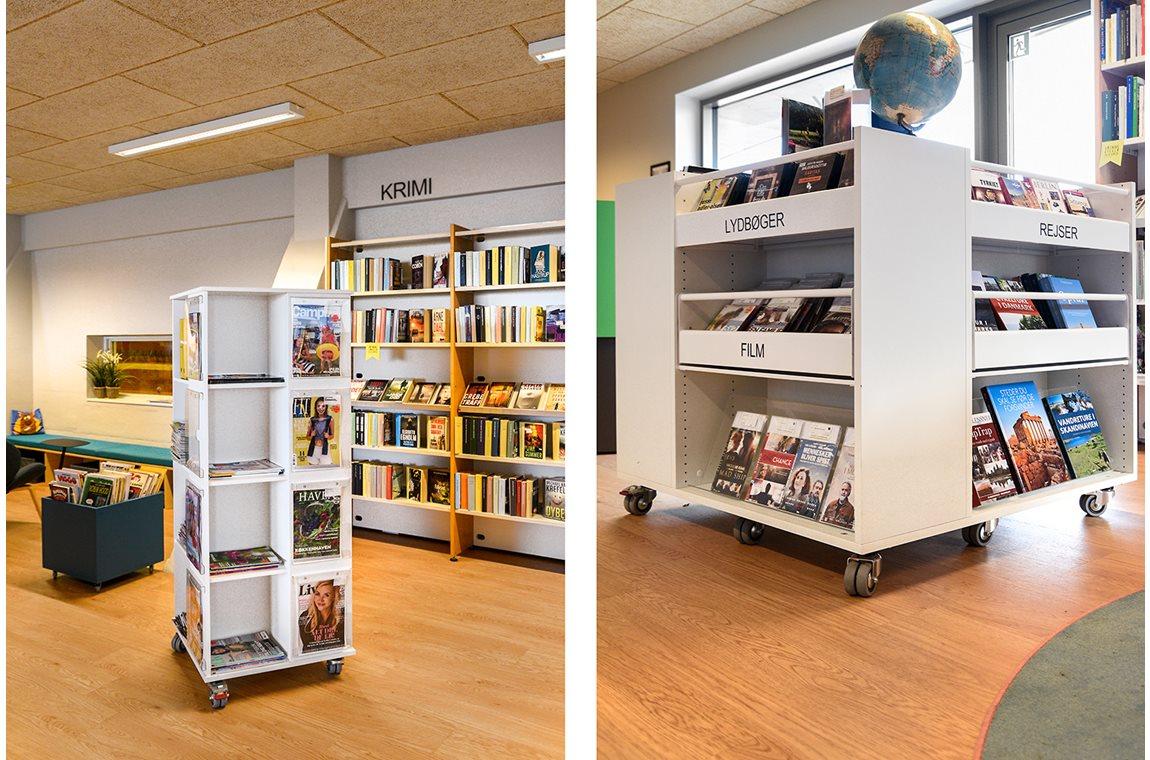 Østervrå Public Library, Denmark - Public libraries