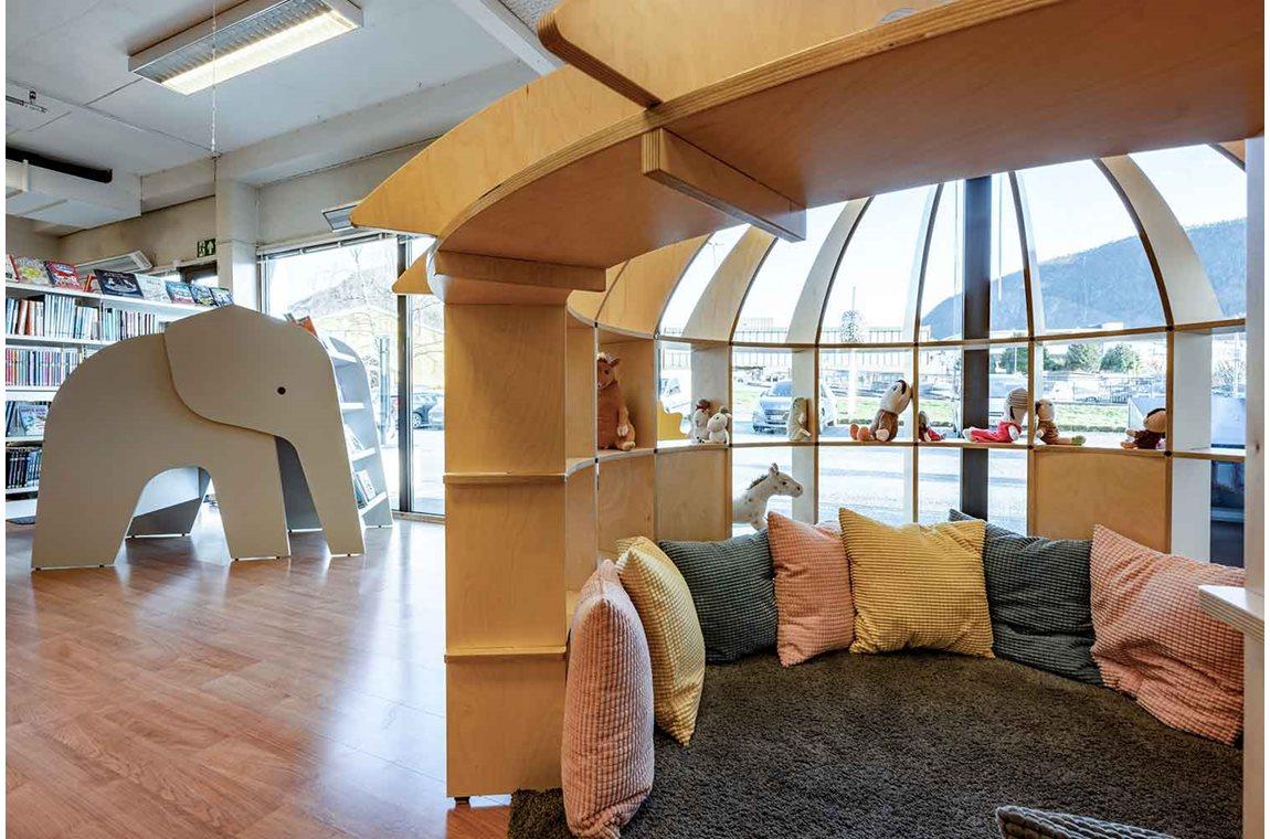 Ryfylkebiblioteket Strand, Jørpeland, Norge - Offentliga bibliotek