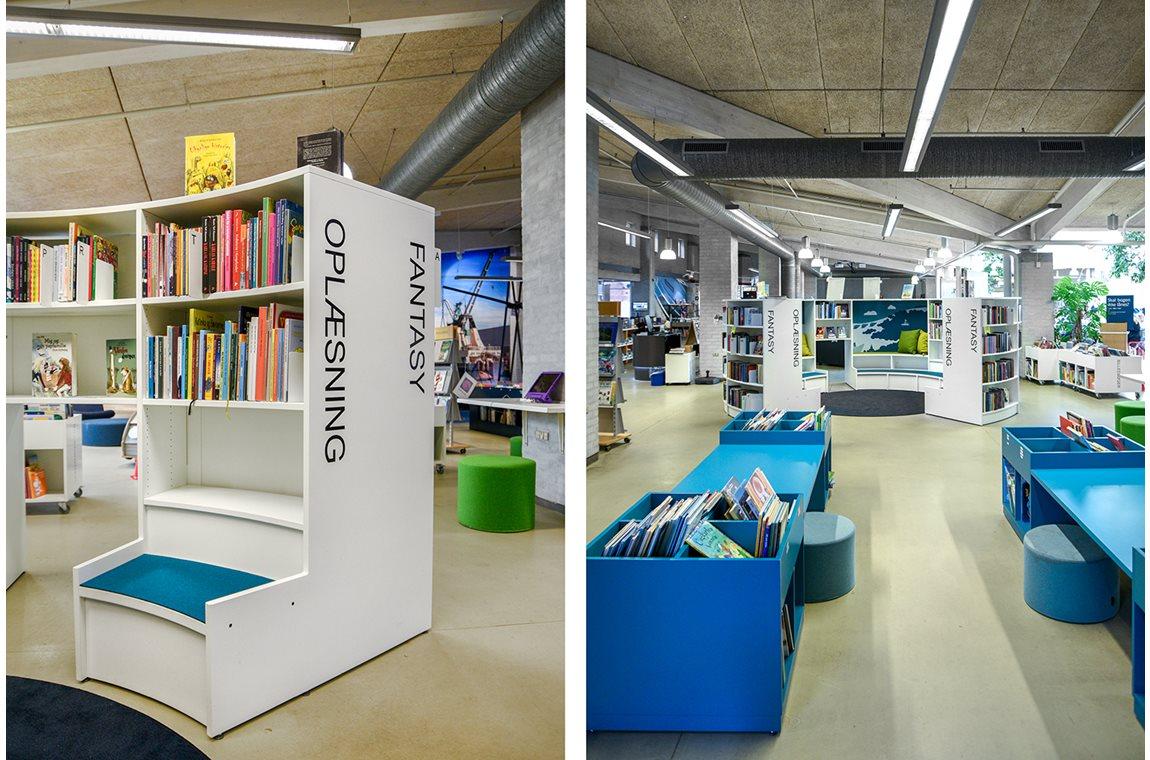 Bibliothèque municipale de Frederikshavn, Danemark - Bibliothèque municipale