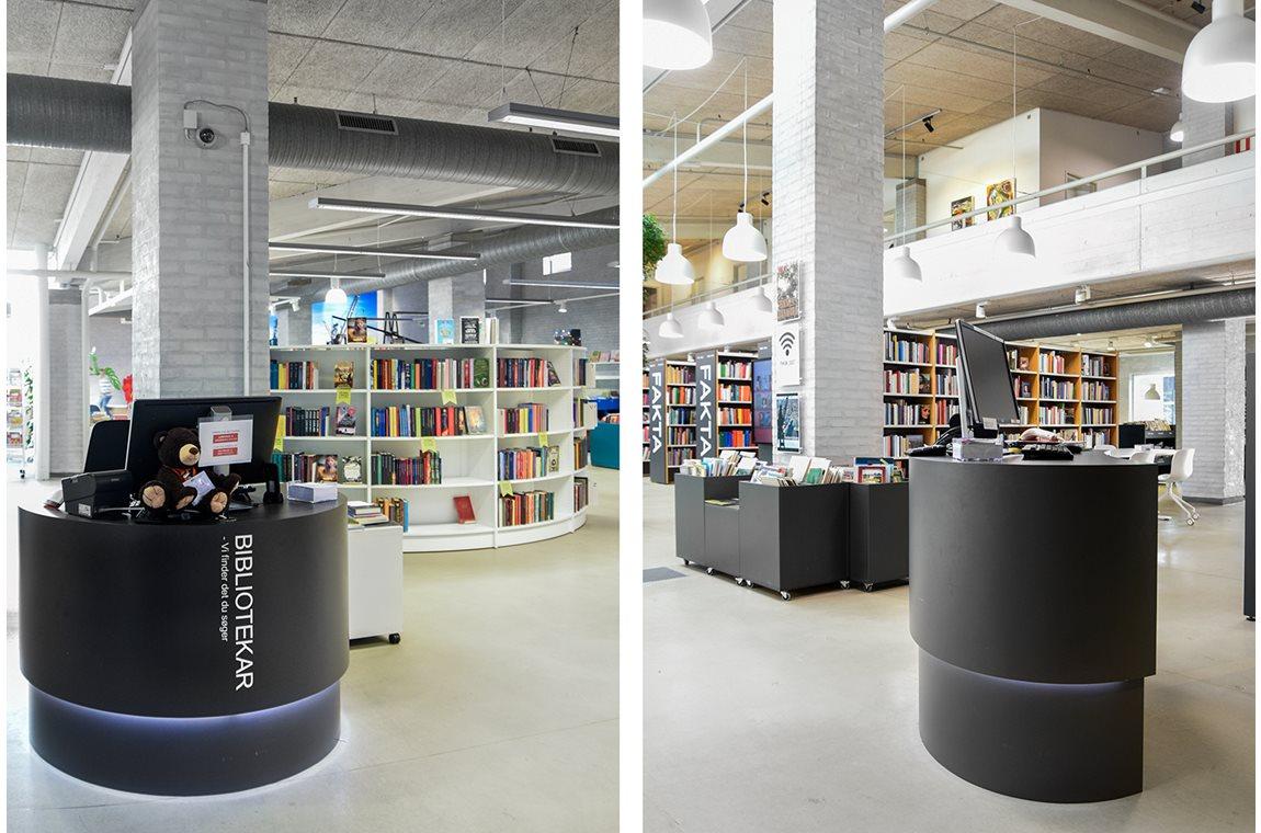 Frederikshavn bibliotek, Danmark - Offentliga bibliotek