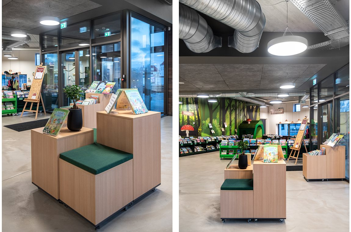Vejen Public Library, Denmark - Public libraries