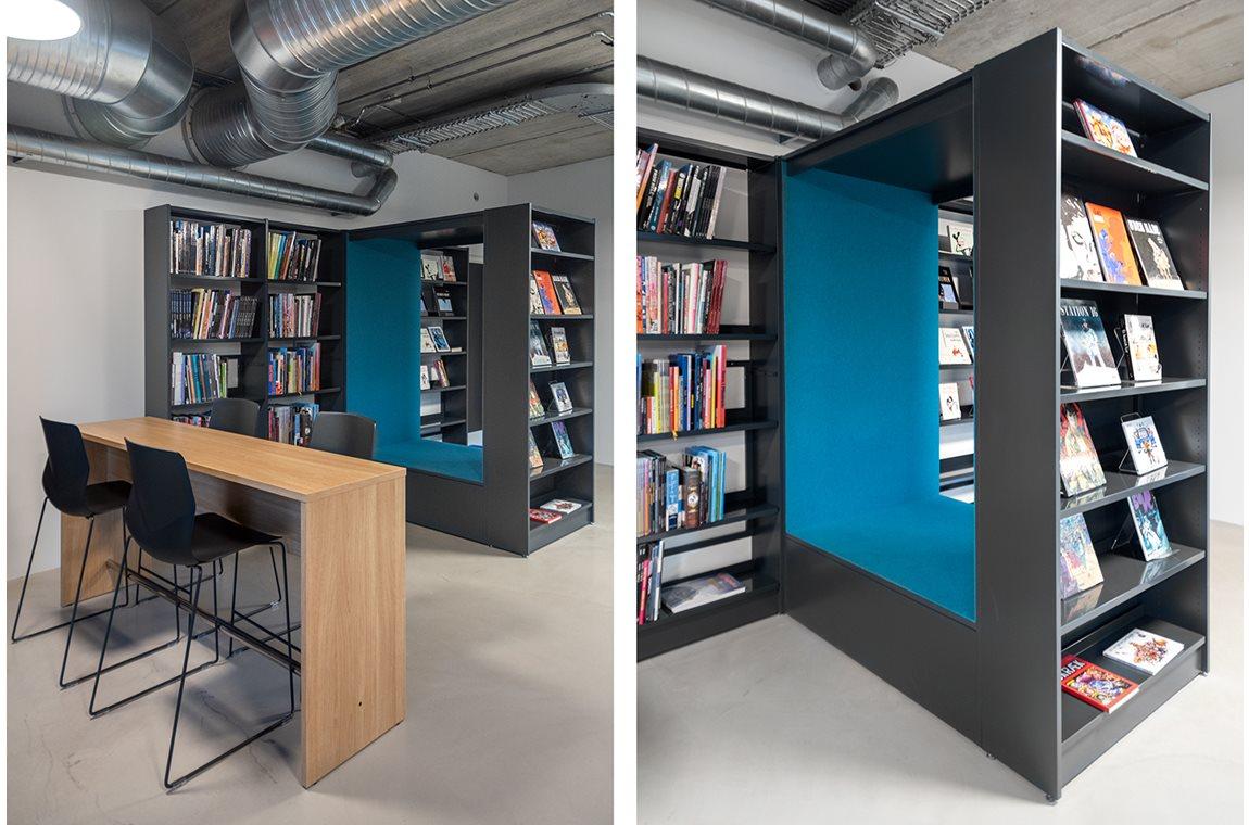Openbare Bibliotheek Vejen, Denemarken - Openbare bibliotheek