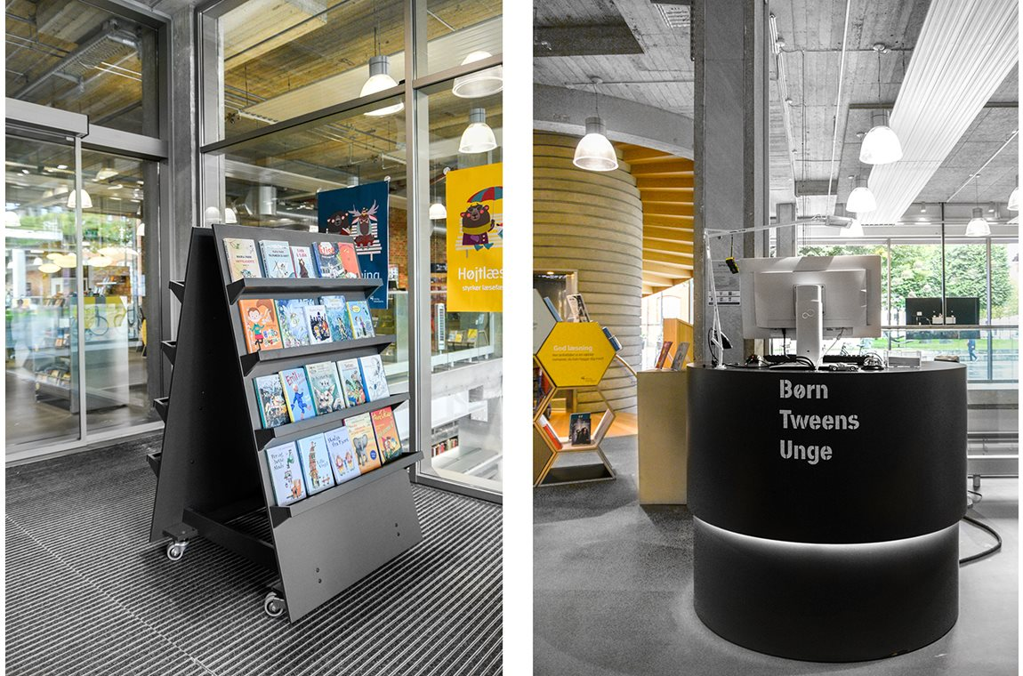 Herning Public Library, Denmark - Public libraries