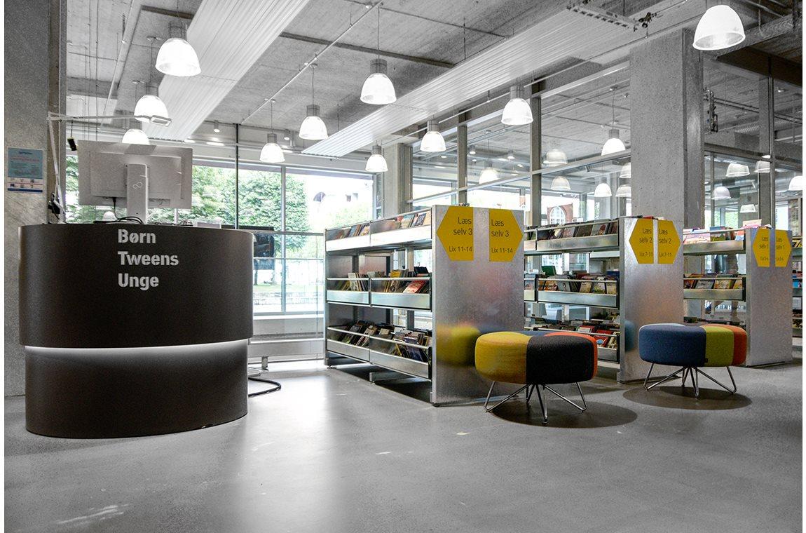 Herning bibliotek, Danmark - Offentliga bibliotek