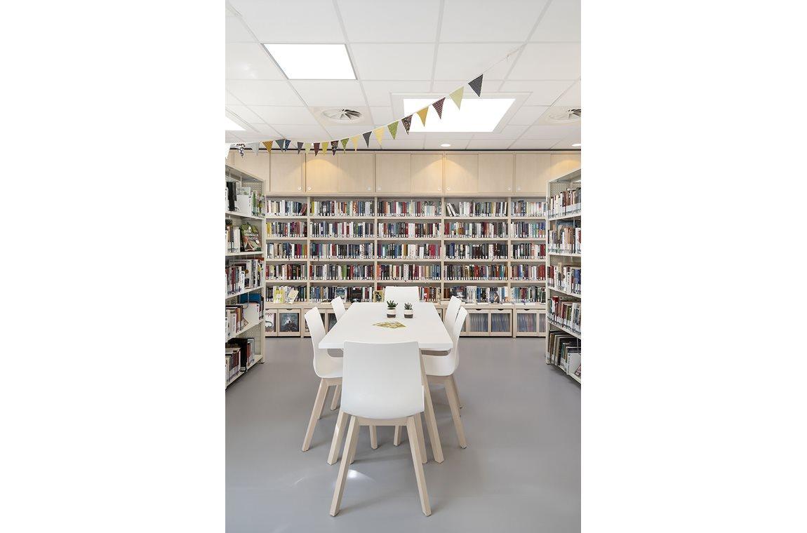 Oudergem Public Library, Belgium - Public libraries