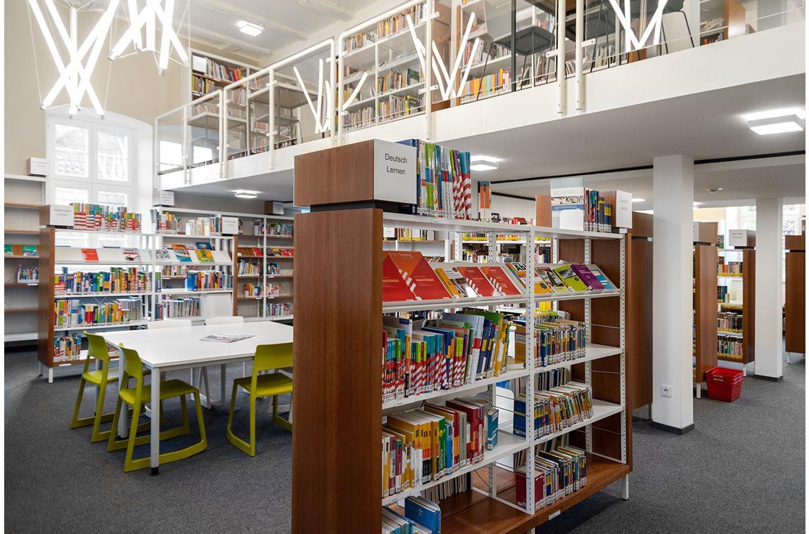 Detmold Bibliotek, Tyskland - Offentligt bibliotek