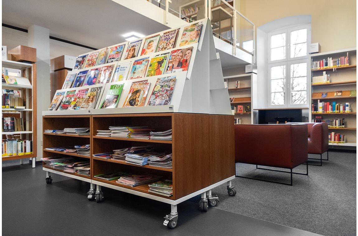 Bibliothèque municipale de Detmold, Allemagne - Bibliothèque municipale