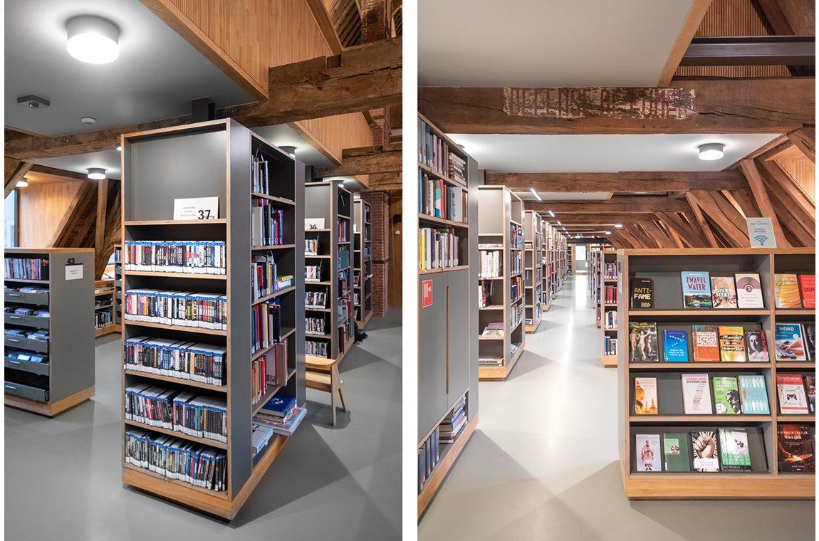 Bibliothèque municipale Het Predikheren, Mechelen, Belgique - Bibliothèque municipale