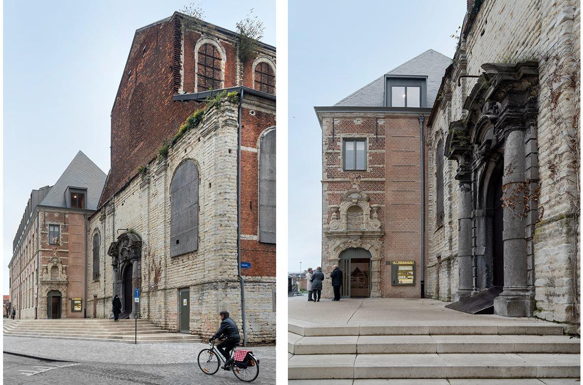 Het Predikheren bibliotek, Mechelen, Belgien - Offentliga bibliotek