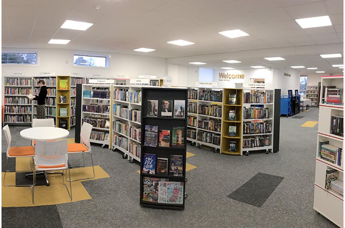 Newport Pagnell Bibliotek, Storbritannien - Offentligt bibliotek