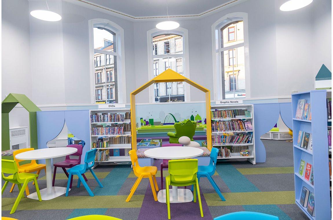 Partick bibliotek, Storbritannien - Offentliga bibliotek