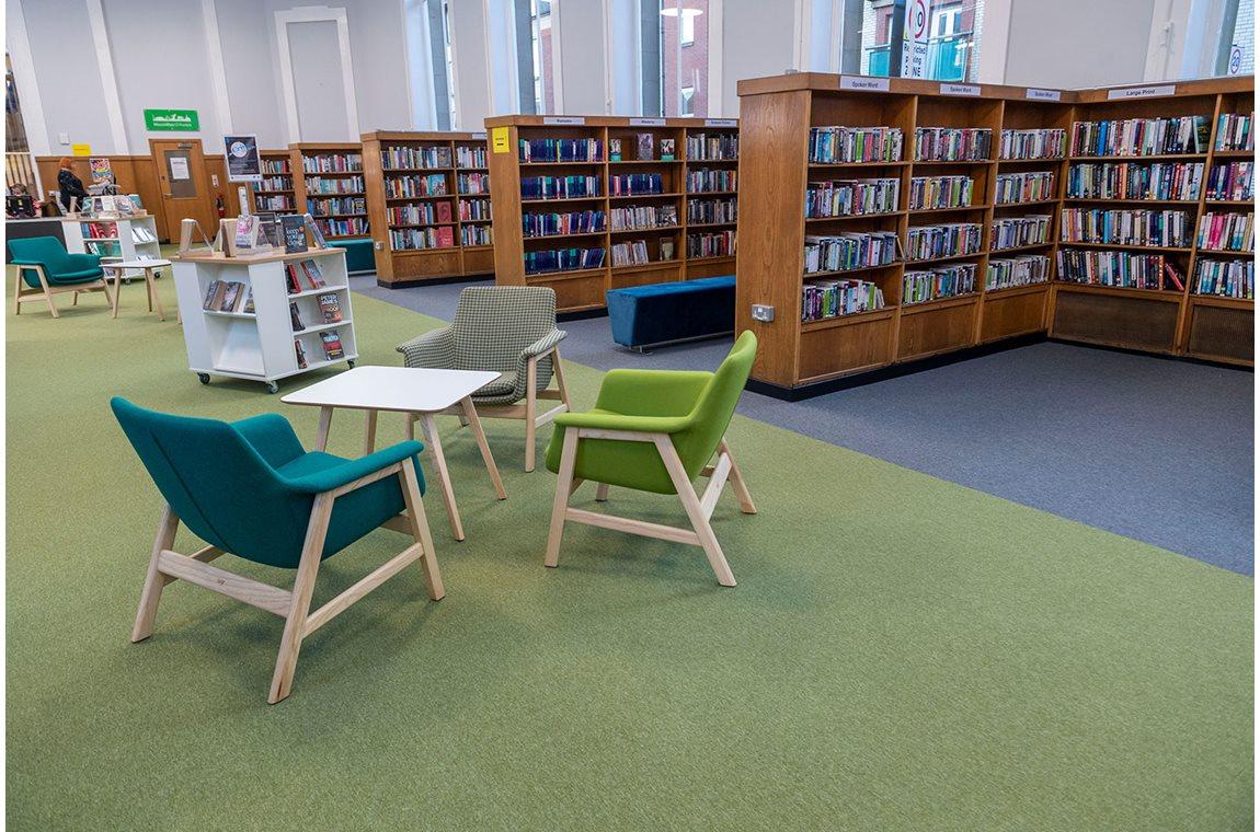 Bibliothèque municipale de Partick, Royame-Uni - Bibliothèque municipale