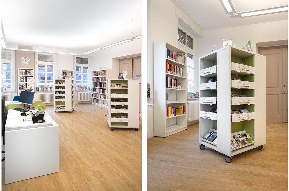 Krefeld bibliotek, Tyskland - Offentliga bibliotek