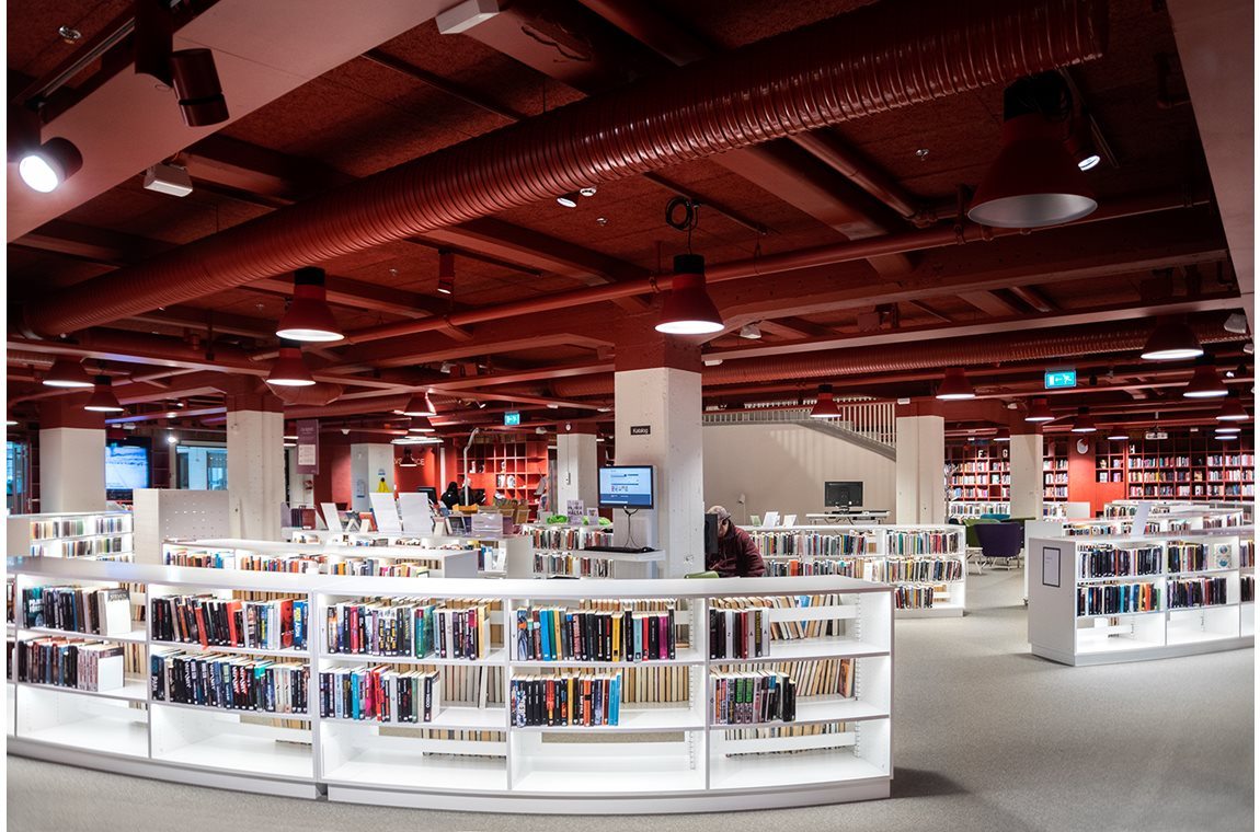 Värnamo Public Library, Sweden - Public libraries