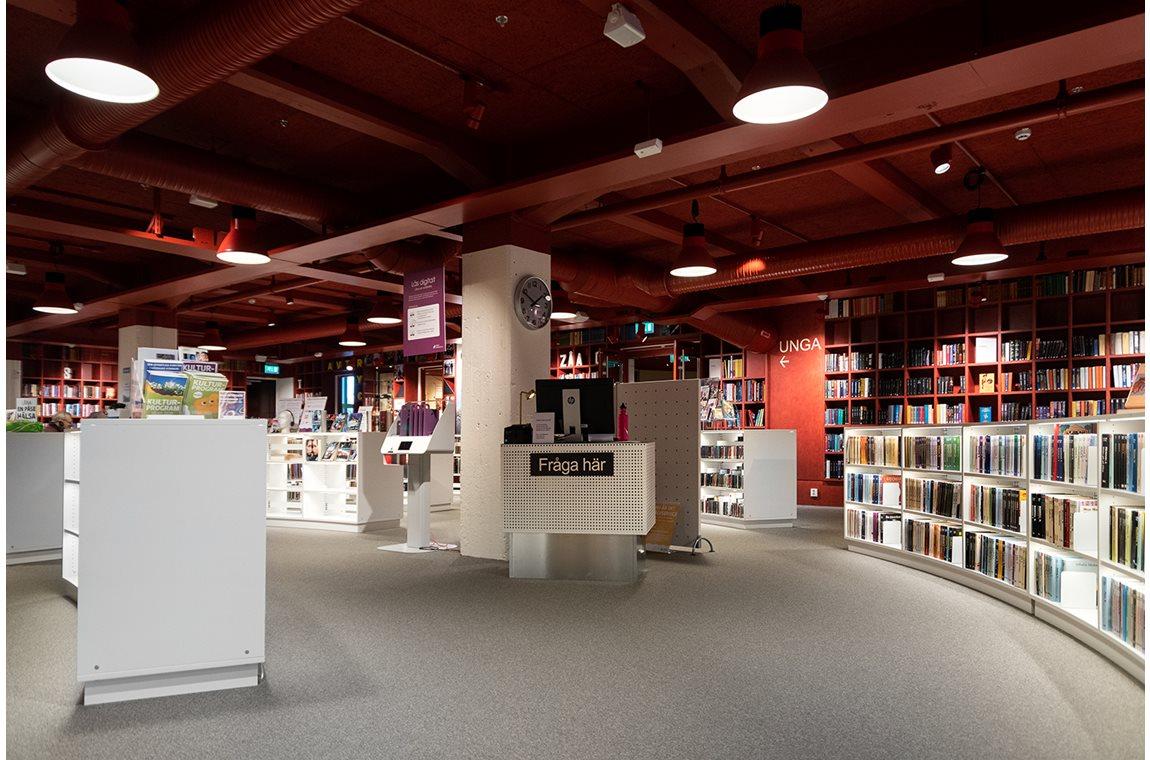 Värnamo Bibliotek, Gummifabriken, Sverige - Offentligt bibliotek