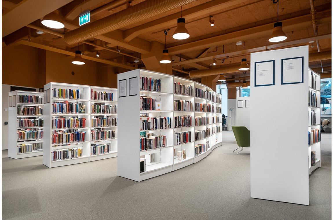 Bibliothèque municipale de Värnamo, Suède - Bibliothèque municipale