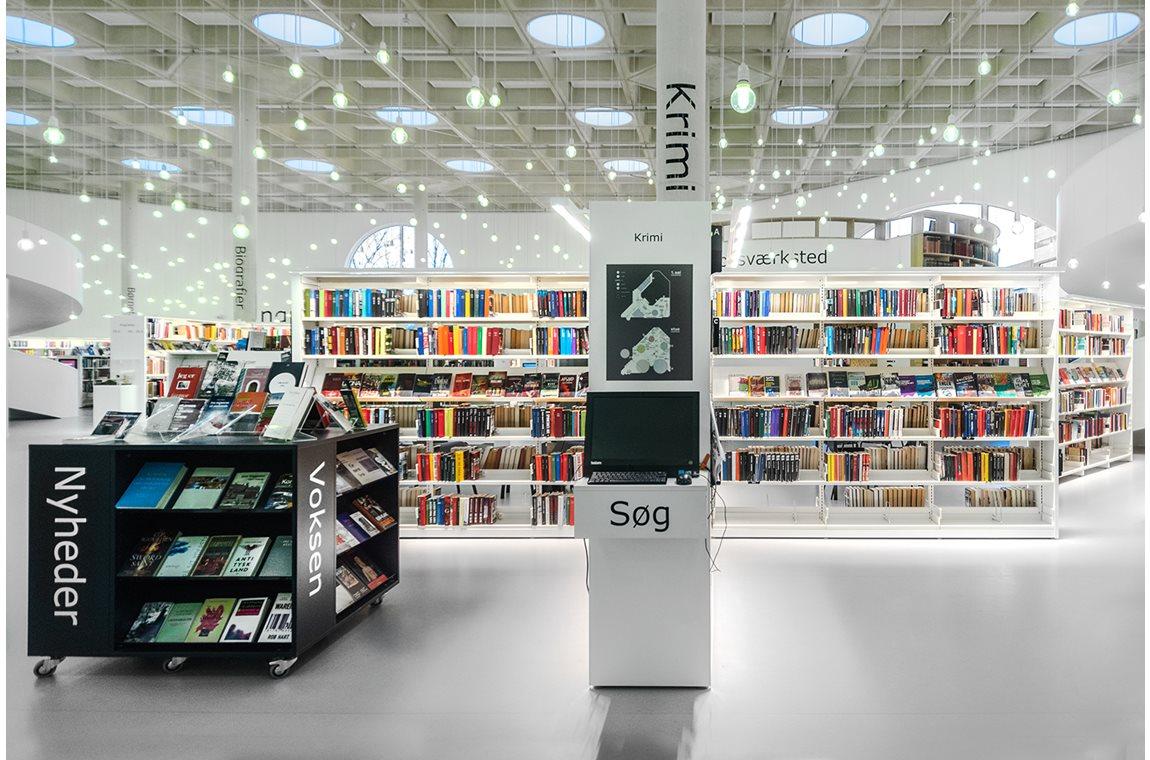Openbare Bibliotheek Hørsholm, Denemarken - Openbare bibliotheek