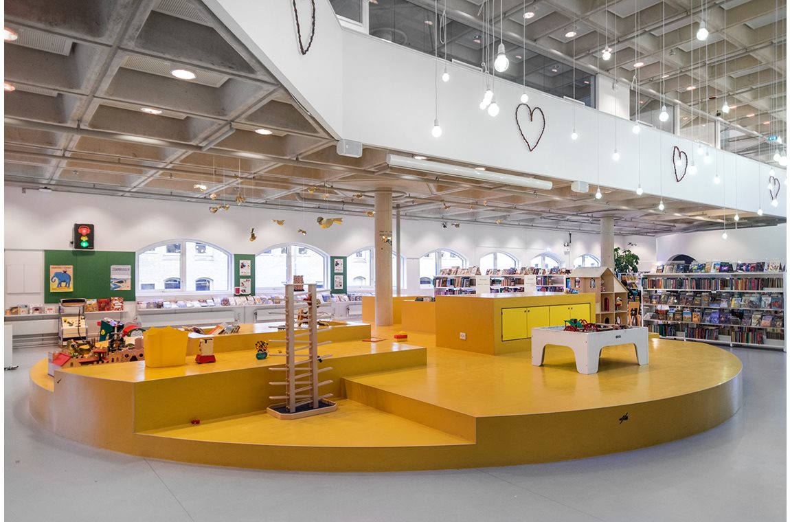 Bibliothèqu publique de Hørsholm, Danemark - Bibliothèque municipale