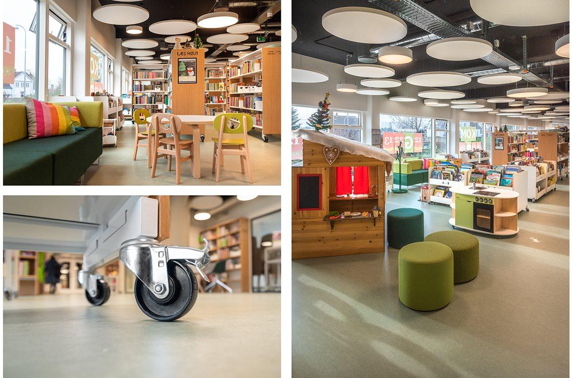 Hedehusene bibliotek, Danmark - Offentliga bibliotek