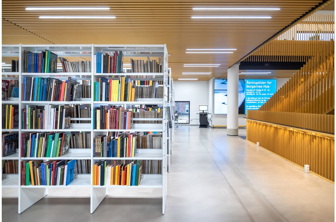 Odense Public Library, Denmark - Public libraries