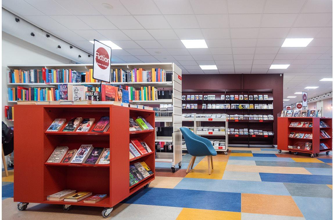 Allerød bibliotek, Danmark - Offentliga bibliotek