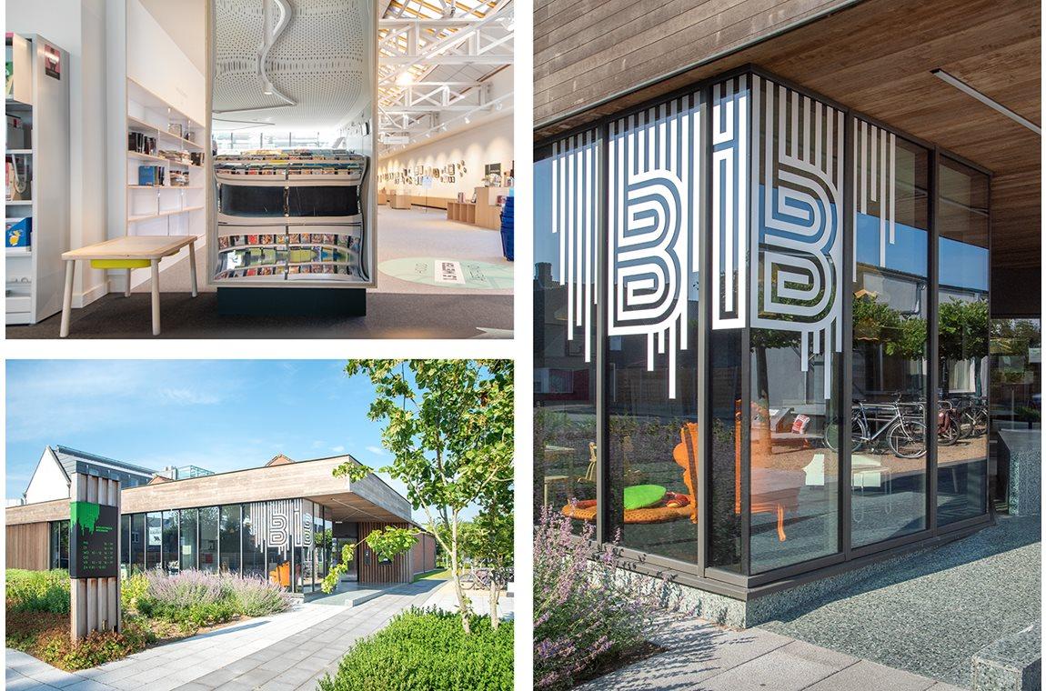 Bibliothèque municipale de Beernem, Belgique - Bibliothèque municipale
