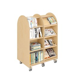 E21160 - double-sided with 20 shelves (16 adjustable)