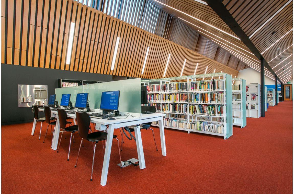 Bibliothèque municipale d'Capilano, Edmonton, Canada - Bibliothèque municipale