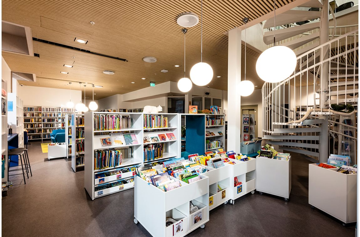Bibliothèque municipale de Vindafjord, Norvège - Bibliothèque municipale