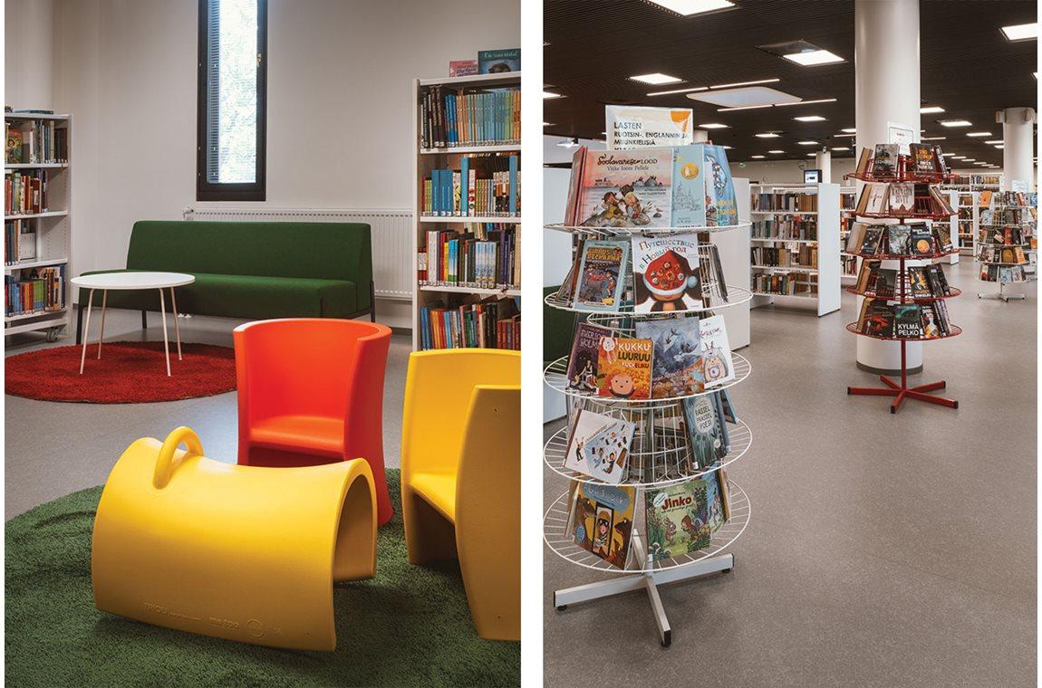 Bibliothèque municipale de Hämeenlinna, Finlande - Bibliothèque municipale