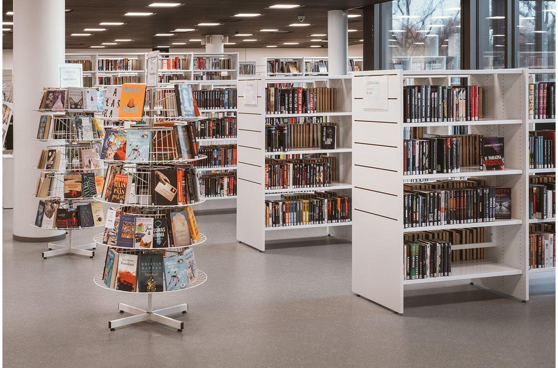 Hämeenlina Public Library, Finland - Public libraries