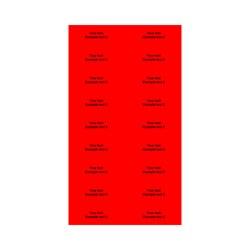 E225020 - 2 linjer, Arial 12 max 2 x 20 karakterer