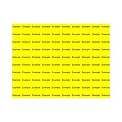 E226311 - 1 linje, Arial 10 max 7 karakterer