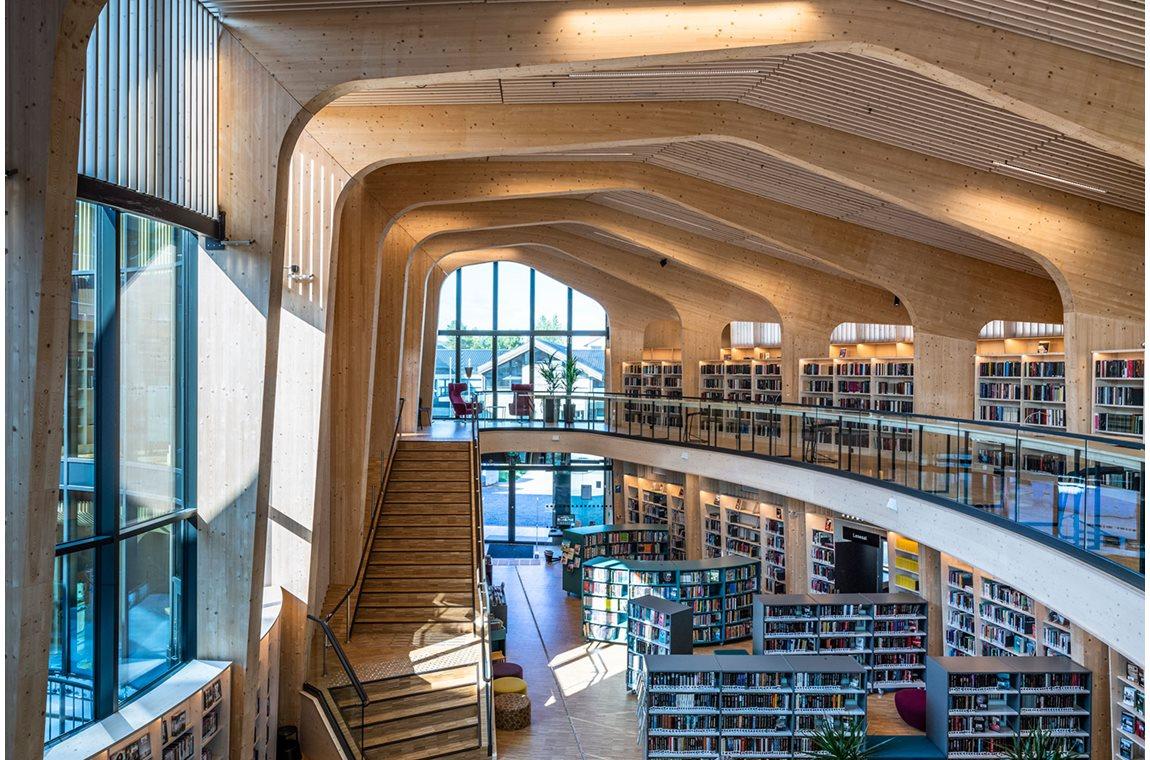 Bibliothèque municipale de Nord-Odal, Norvège - Bibliothèque municipale