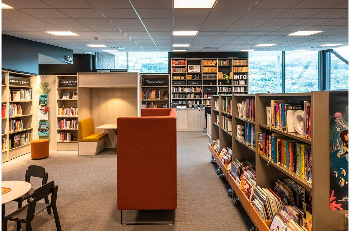 Öffentliche Bibliothek Ål, Norwegen - Öffentliche Bibliothek