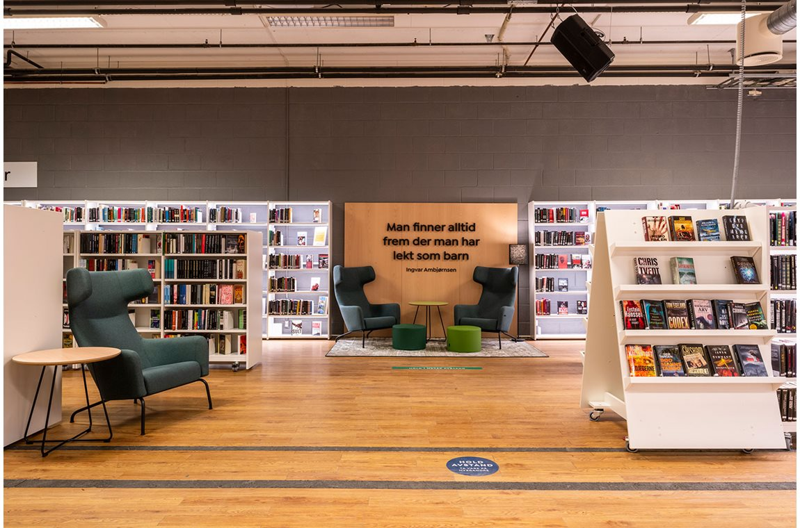 Larvik Public Library, Norway - Public libraries