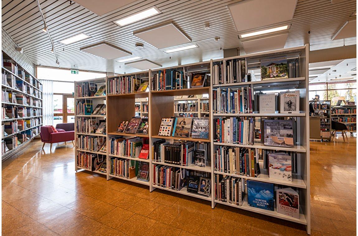 Öffentliche Bibliothek Tynset, Norwegen -