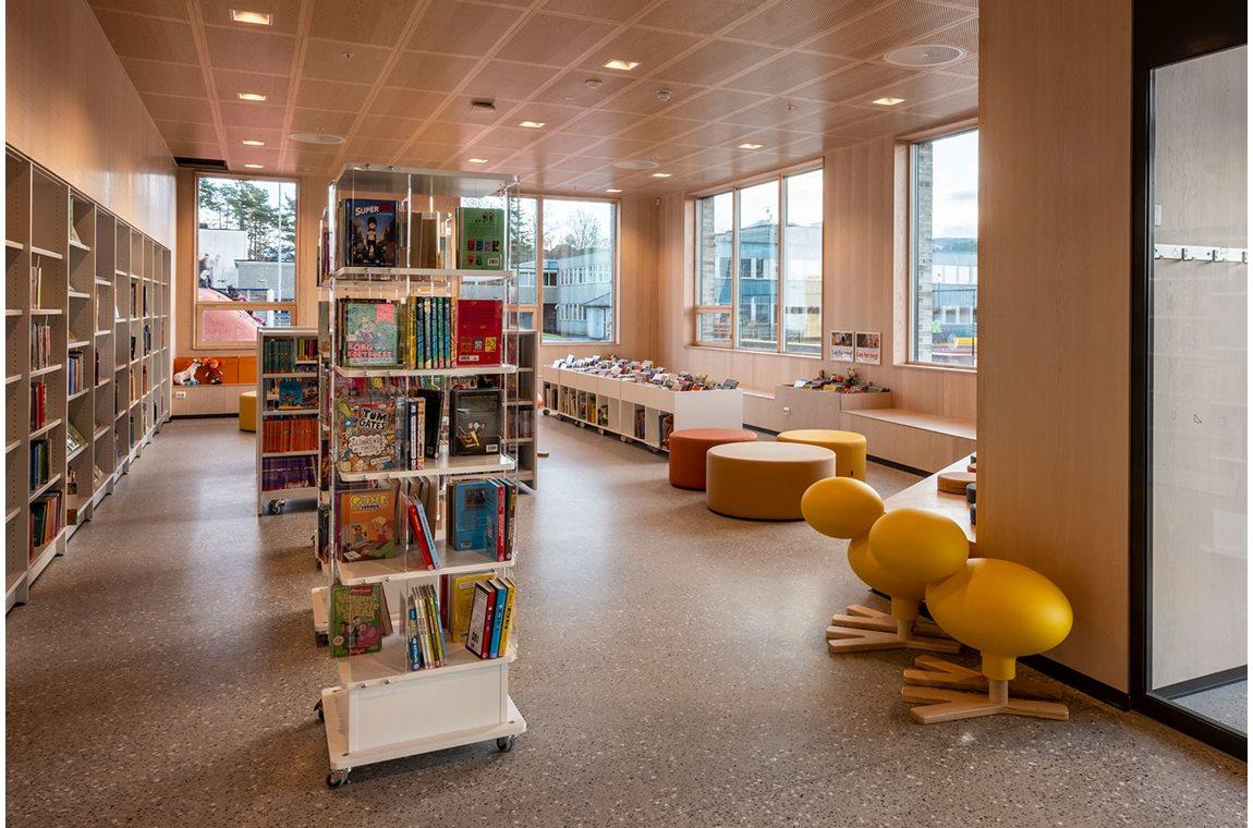 Öffentliche Bibliothek Tau, Norwegen - Öffentliche Bibliothek